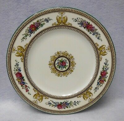 WEDGWOOD china COLUMBIA IVORY W726 pattern Dinner Plate - 10-5/8""