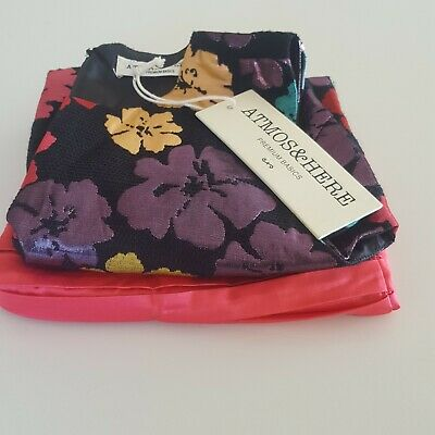 BULK Lot of 2 Womens Size 10 Summer Clothes Atmos & Here Top NWT & Tokito Skirt