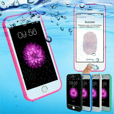 360° Waterproof Dustproof Rubber Phone Case Cover For iPhone XS XR 6 6s 7 8 Plus
