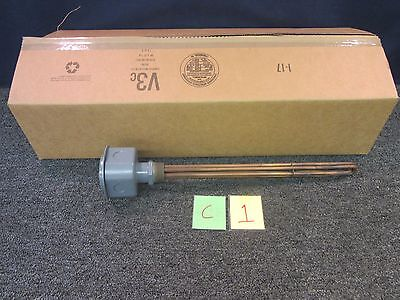Indeeco Immersion Water Heater Thermostat Electric 4500W 208/3V Military Pipe