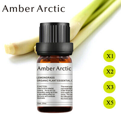 Aromatherapy Essential Oils Lemongrass Natural Pure Essential Oil Diffuser US