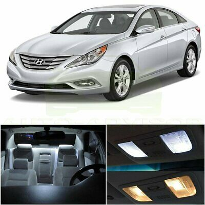 8x Green LED lights interior package kit for 2011 /& Up Hyundai Sonata YS2G