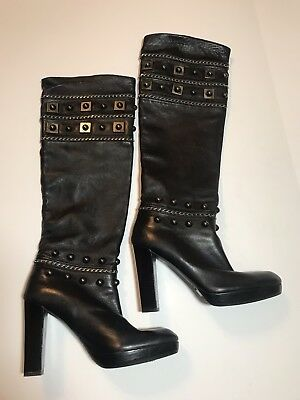 $1495 Charlotte Olympia Alda Knee High Boots Size 39.5 Moderate Cost Boots Clothing, Shoes & Accessories
