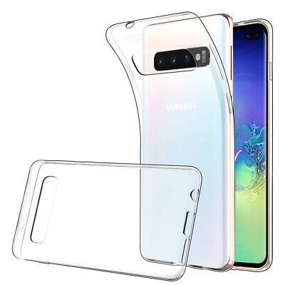 Coque Silicone TPU Clear gel Ultra Fine Samsung Galaxy S10+/ S10 Plus 6.4""