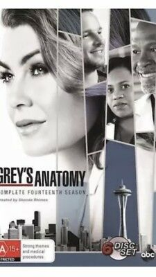 Grey's Anatomy Season 14 BRAND NEW R4 DVD