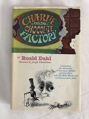 1964 Charlie and the Chocolate Factory - Roald Dahl Junior Deluxe Edition