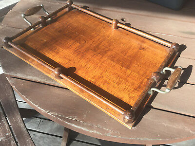 Vintage Wooden Serving Tray - very sylish & practical!