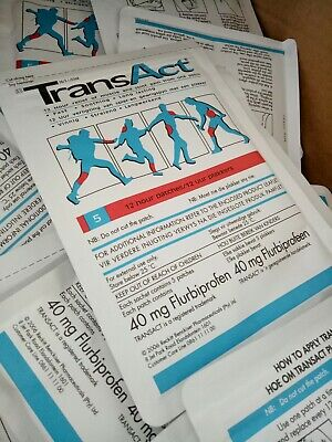 TransAct Pain Relief Patches