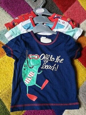 Boys t shirts 6-9 months BRAND NEW with Tags