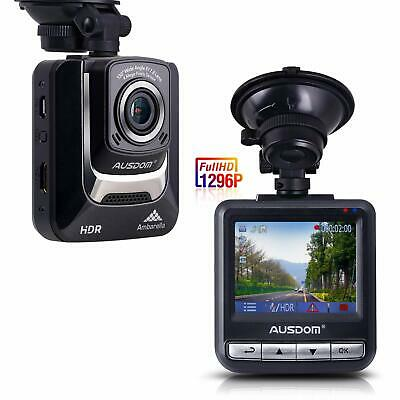 Ausdom Dash Cam 1080P FHD DVR Car Driving Recorder(AD282)