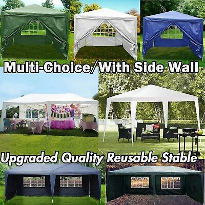 Gazebo Tent Canopy Market Stall Marquee Waterproof Outdoor Party Car Auto Shade