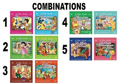 Canzoncine e Fiabe Offer: 2 CD + DVD Choose between 5 COMBINATIONS