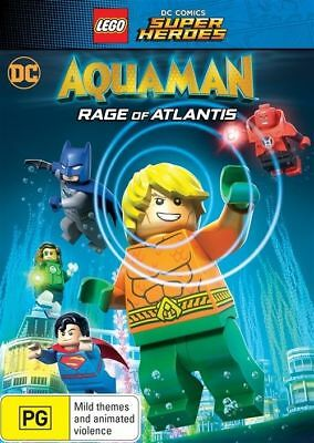 LEGO DC Super Heroes - Aquaman - Rage Of Atlantis DVD : NEW