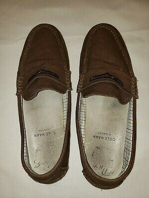 cba1ba0f5f0 Cole Haan Men s Pinch Weekender Loafers (C13426) Java Fabric Gum Size 10.5M