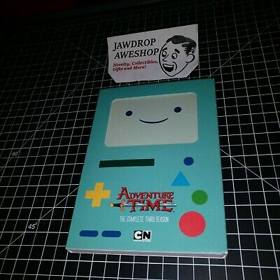 Adventure Time The Complete Third Season 3Rd Series S3 - Region 1 R1 Dvd Can/usa