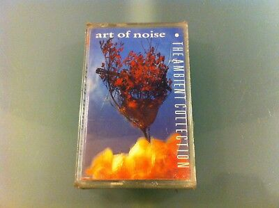 """Art Of Noise """"The Ambient Collection"""" Mc K7 Tape Nuova Sigillata New Sealed"""