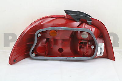 8155105060 Genuine Toyota LENS, REAR COMBINATION LAMP, RH 81551-05060