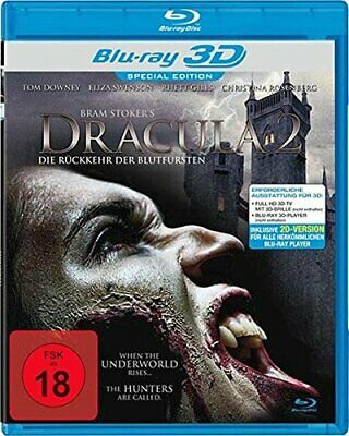 DRACULA'S CURSE - BLU RAY 3D & 2D - Region B - Tom Downey