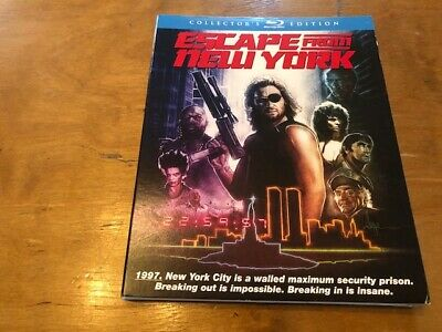 Escape From New York SLIPCOVER ONLY Blu-ray*Scream Factory*Collectors Edition*