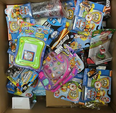Wholesale Lot: Toys and games, baby figures, stickers and classic toys 67 Items
