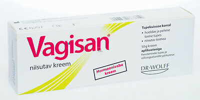 VAGISAN Vaginal Moisturising Cream 50g - Vaginal Dryness, Normal PH & Flora.