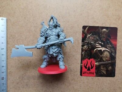 Um'cordu Prince Miniature + Card / Barbarian / Hate Board Game Cmon G22