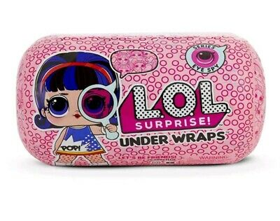 LOL Bambola Under Wraps Series Eye Spy - 15 Sorprese - Nuovo