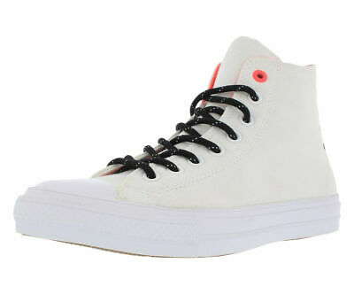51cf3151fc6b CONVERSE Chuck Taylor All Star II Hi Shield Canvas sz 12 White Hot Lava  Lunarlon