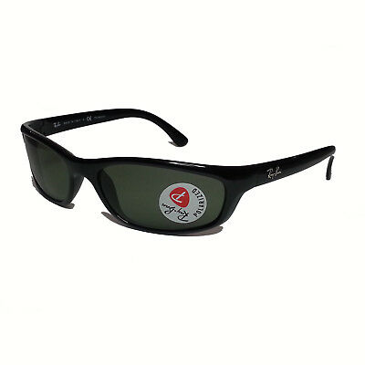 Ray-Ban Polarized Men Sunglasses RB4115 Sport Black  Made in ITALY with case
