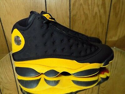 info for 870d4 694b2 Air Jordan XIII 13 Retro Graduation Melo Black Suede 414571-035 s 10 B grade