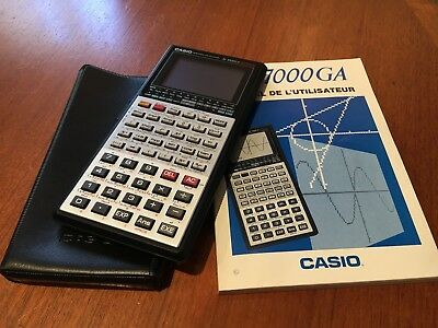 Calculatrice Scientifique Graphique , Casio Fx-7000Ga , Vintage , Tbe En Boite