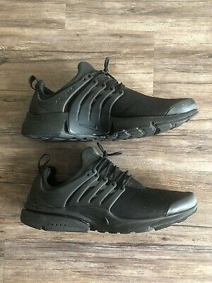new style 67401 aed55 Nike Air Presto Essential Triple Black Men s Running Shoes 848187-011 Size  13