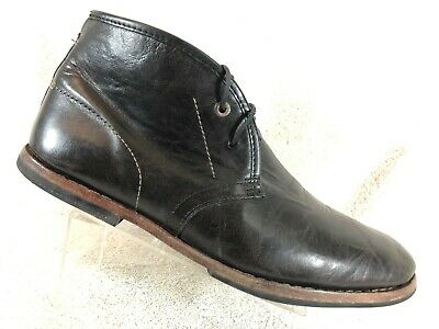 6b9e3ee0a9b8 Timberland Boot Company Wodehouse Chukka Black Distressed Leather Men s  Size 10