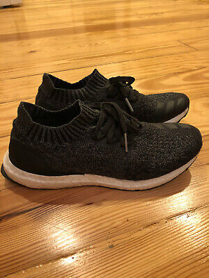 1ba488e1cee MEN S ADIDAS ULTRA Boost Uncaged Core Black Solid Grey BY2551 Size 9 ...