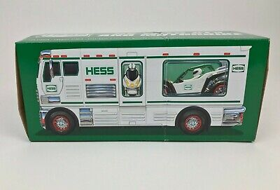 2018 Hess Toy RV Truck Box Only No Truck Opened Empty Box Some Inserts For Parts