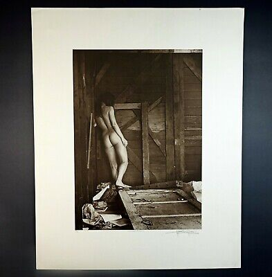 Harvey Edwards Nude Woman Signed Numbered Art Print Withered Illusion 139/300