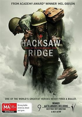 Hacksaw Ridge DVD : NEW