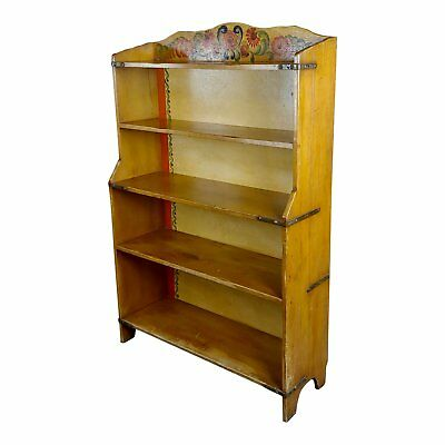Monterey Original 1930s Painted Bookstand -Signed