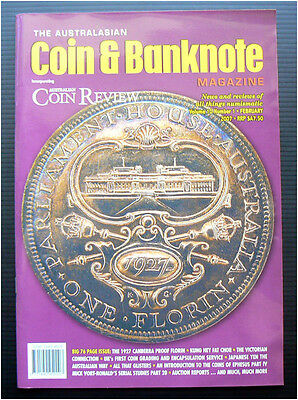 Australasian Coin & Banknote Magazine Feb 2007 numismatic Australian collecting