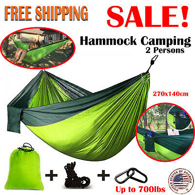 Camping Hammock Double Lightweight Two Person Underquilt Outdoor Tent Hiking