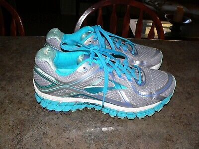 55618803d086 Brooks Gts 16 Women s Athletic Running Shoes Size 9 Gray Teal Purple  1202031B170