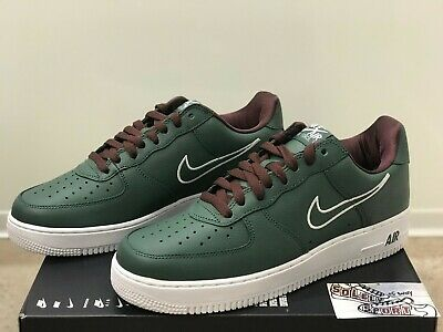 735475154644 New Nike Air Force 1 Low Retro Hong Kong 2018 Leather Green AF1 845053 300  Mens