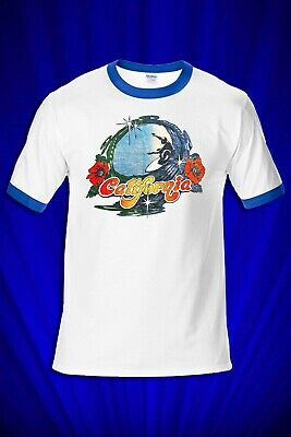 937f46c3 CALIFORNIA SURFER 1970S vintage Surf Jersey T-SHIRT FREE SHIP USA ...