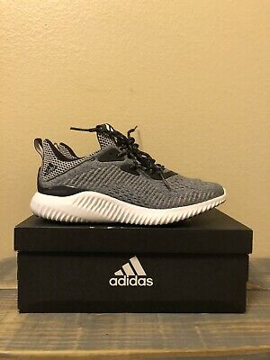 803378a96 WOMENS ADIDAS ALPHABOUNCE EM BY3507 Gray Running Shoes Size 6.5 ...