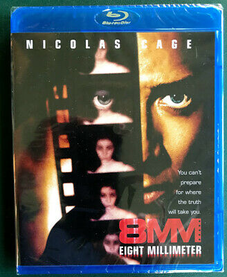 8MM, Blu-ray, SEALED, FREE SHIPPING, Nicolas Cage, Joaquin Phoenix, Ohio seller