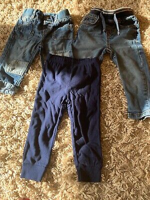 Boys 9-12 months Jeans And Child Of Mine Joggers Bundle