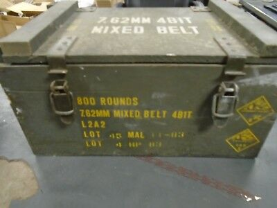 Large Ammunition Ammo Can Box Army Military surplus Storage 7.62 MM Explosives