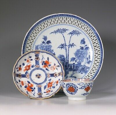 Group of Chinese Export Porcelain, Qianlong, Mid 18thC