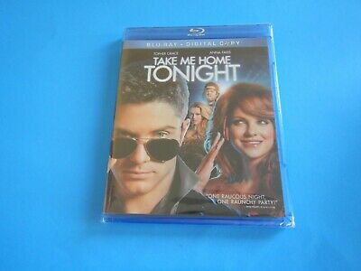"""Take Me Home Tonight"" Topher Grace & Anna Faris; Blu-Ray/Brand New"