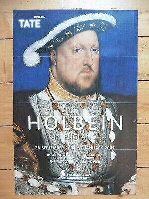 Original Poster Holbein in England, Tate 2007